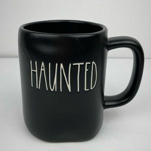 RE Dunn HAUNTED Halloween Mug